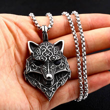 Load image into Gallery viewer, Ferocious Wolf Pendant