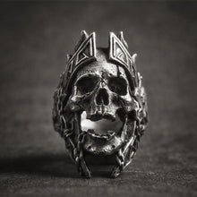 Load image into Gallery viewer, Skull King Ring
