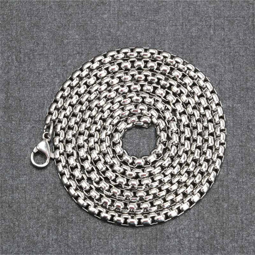 Stainless Steel Box Chain - Viking Valor