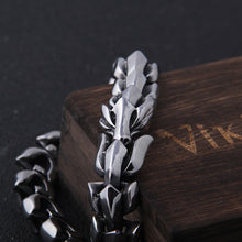 Load image into Gallery viewer, Ouroboros Dragon Bracelet - Viking Valor