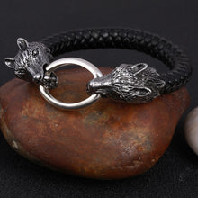 Load image into Gallery viewer, Wolf Ring Bracelet