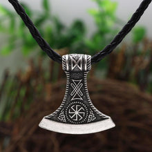 Load image into Gallery viewer, Runic Axe Pendant