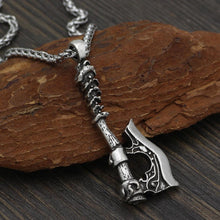 Load image into Gallery viewer, Viking Axe Amulet - Viking Valor