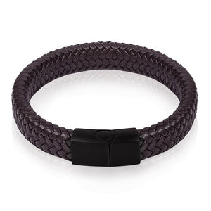 Premium Leather Bracelet - Viking Valor