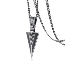 Load image into Gallery viewer, Viking Spearhead Necklace