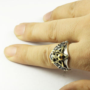 Viking Skull Ring