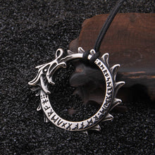 Load image into Gallery viewer, Premium Jormungandr Necklace - Viking Valor
