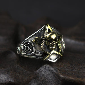 Viking Skull Ring - Viking Valor