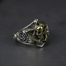 Load image into Gallery viewer, Viking Skull Ring