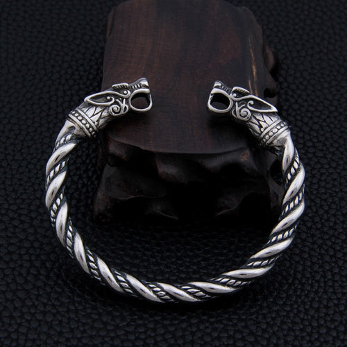 Twined Dragon Arm Ring - Viking Valor