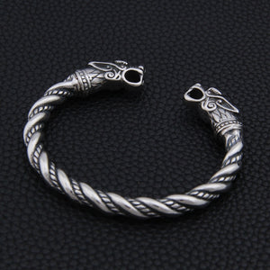 Twined Dragon Arm Ring