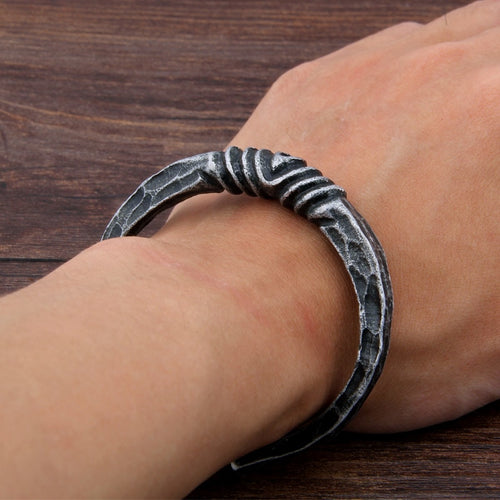 Viking Forged Bracelet