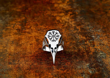 Load image into Gallery viewer, Viking Raven Ring - Viking Valor