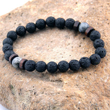 Load image into Gallery viewer, Lava Stone Connection Bracelet