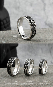 Silver Runic Ring