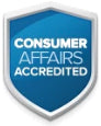 Consumer Affairs Accredited Badge