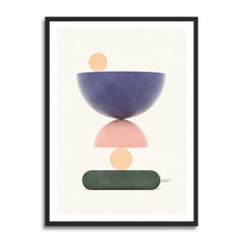 Load image into Gallery viewer, Hammerdal Summer prints in collection art print for walls / abstract shape