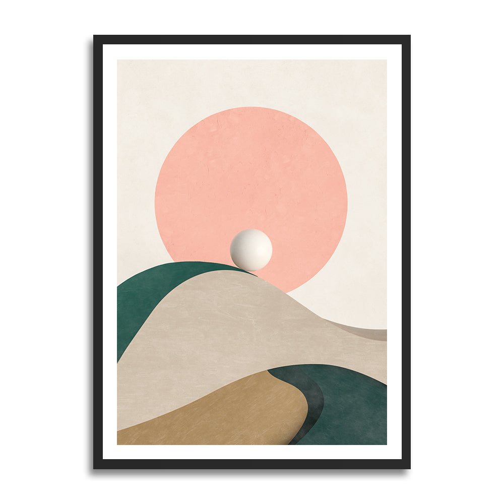 Jämtland prints in collection art print for walls / landscape illustration