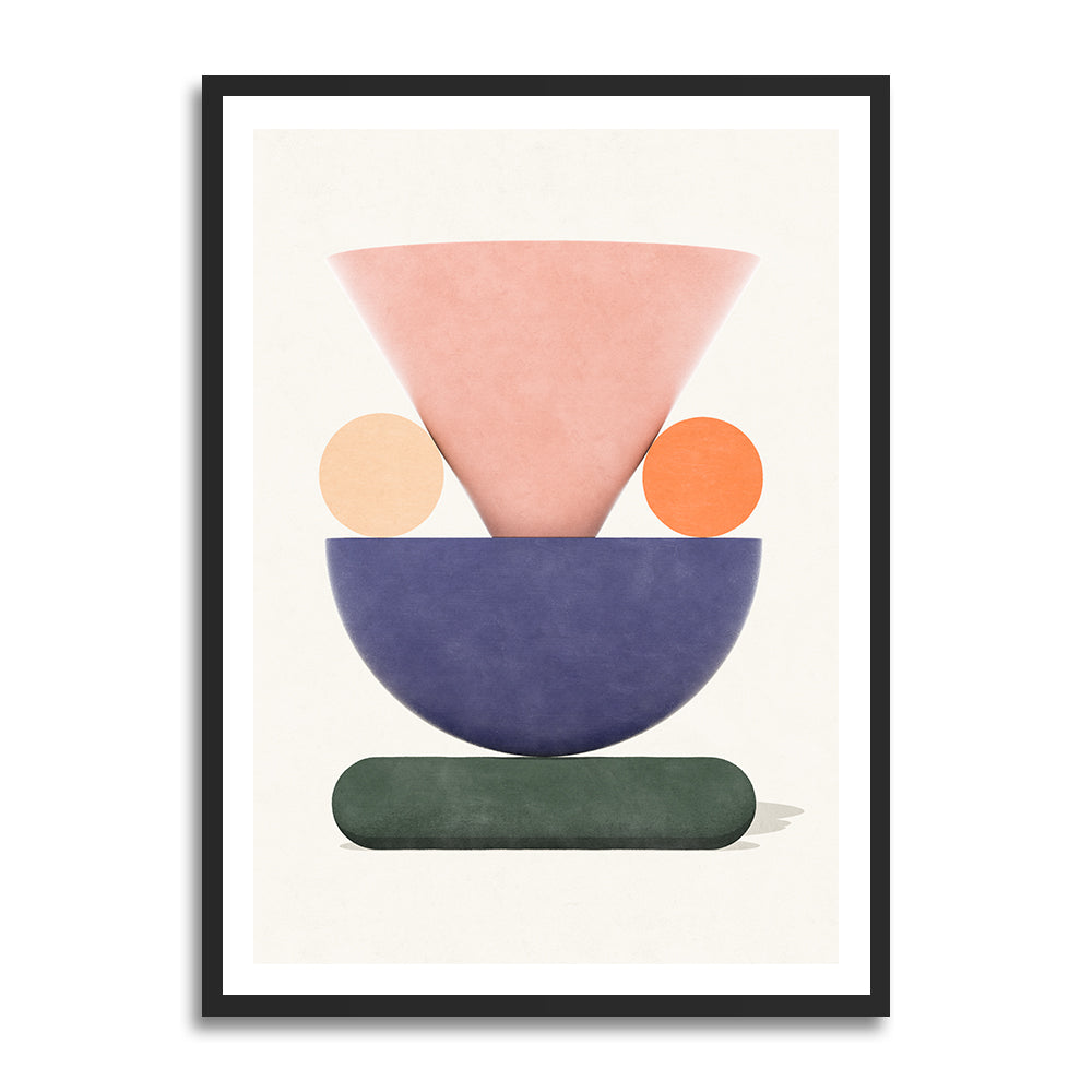 Trosa Wedding prints in collection art print for walls / abstract shape design