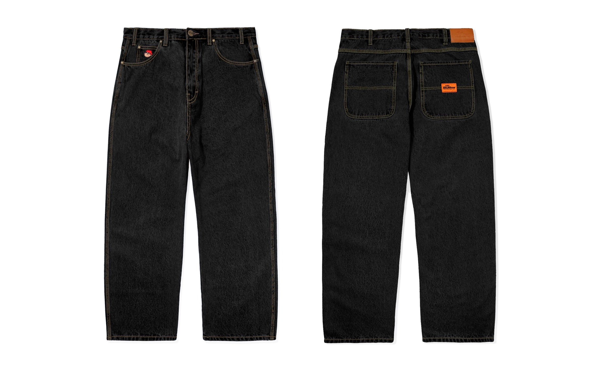 Butter Goods - Santosuosso Pants - Washed Black