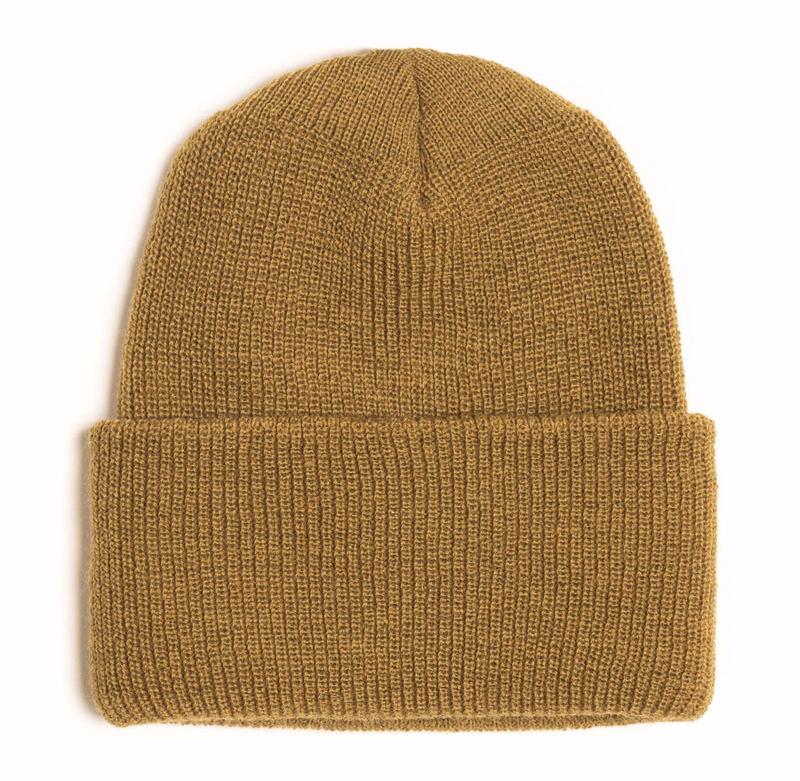 Ocean Apparel - Pinned up WOOL Beanie - Coyote