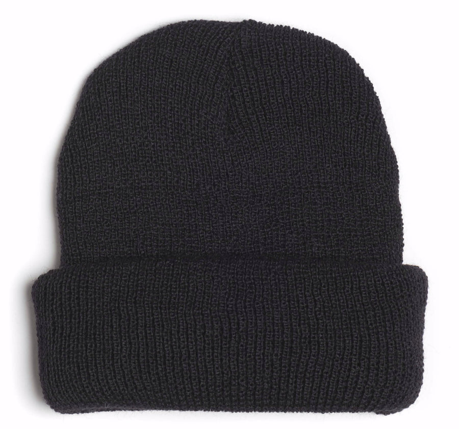 Ocean Apparel - Pinned up WOOL Beanie - Sort