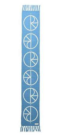 Polar Skate Co. - Stroke Logo Scarf - Pool Blue - O/S