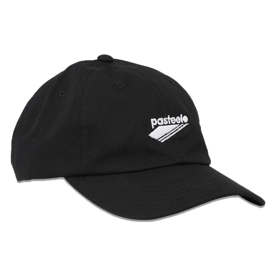 Pasteelo - 6 Panel Cap - Black