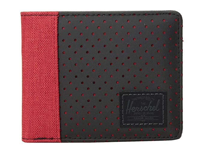 Herschel - EDWARD RFID BARBADOS CHERRY CROSSHATCH