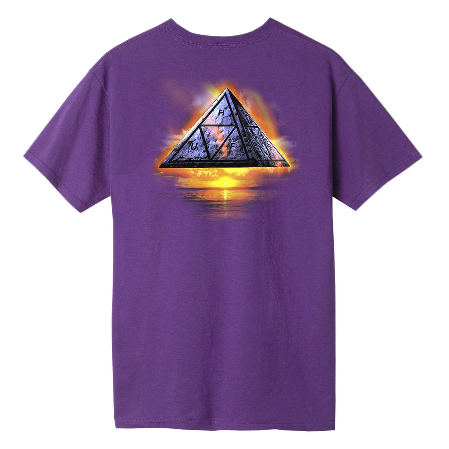 HUF - ANCIENT ALIENS S/S TEE LILLA BACK