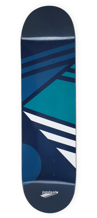 Pasteelo - Abstract Fragment Deck - Navy - 8.0