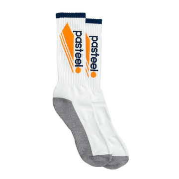 Pasteelo - Athletic Socks White/Gold