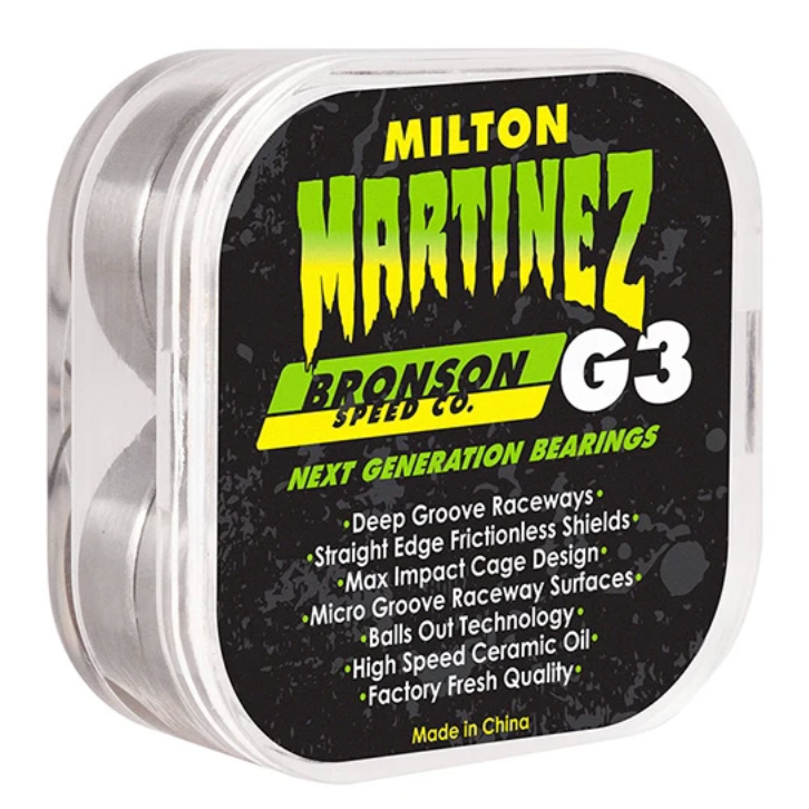 Bronson speed co. Milton Martinez G3 Bearings Smookes
