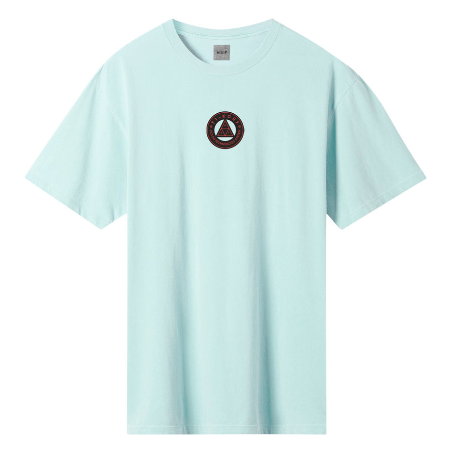 HUF - COLOR TECH TT S/S TEE - MINT FRONT