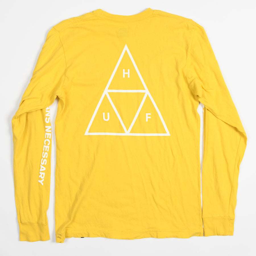 HUF LS Tee - Recycle - S