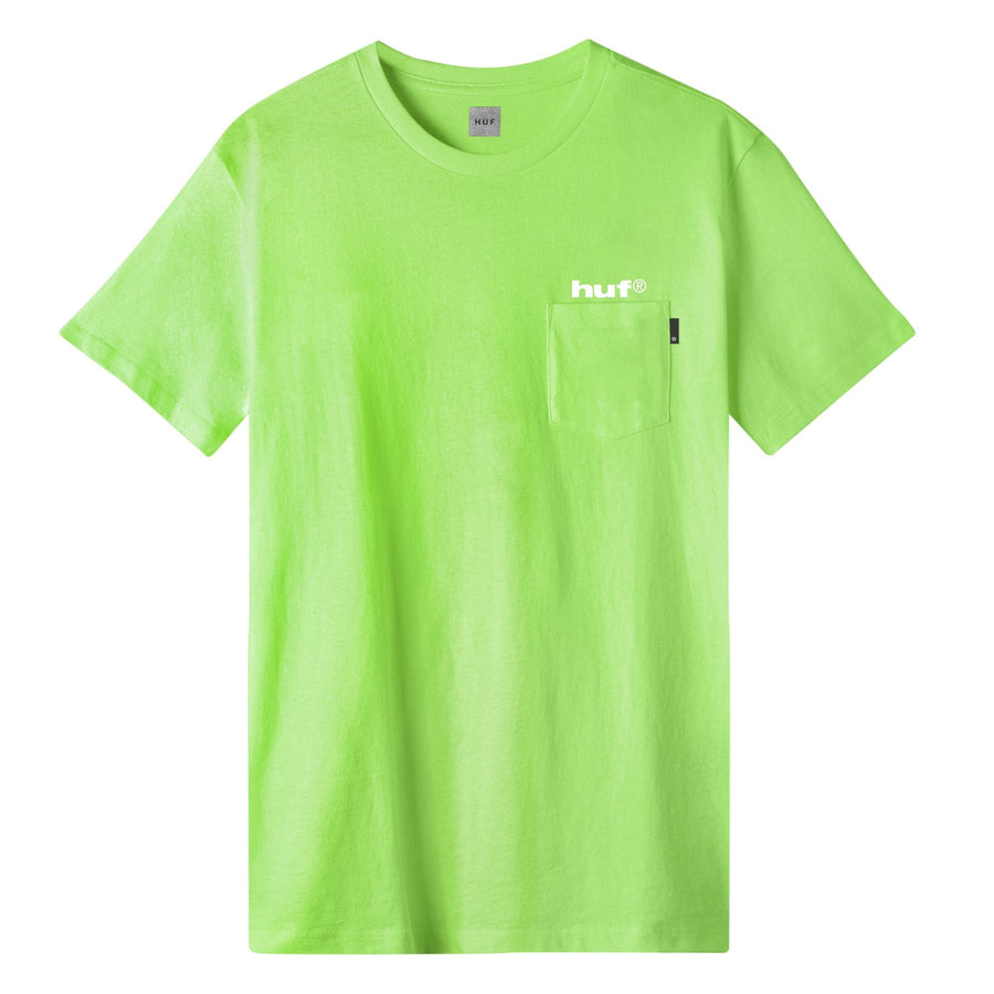 HUF - HUF HYDRANT S/S TEE GRØN FRONT