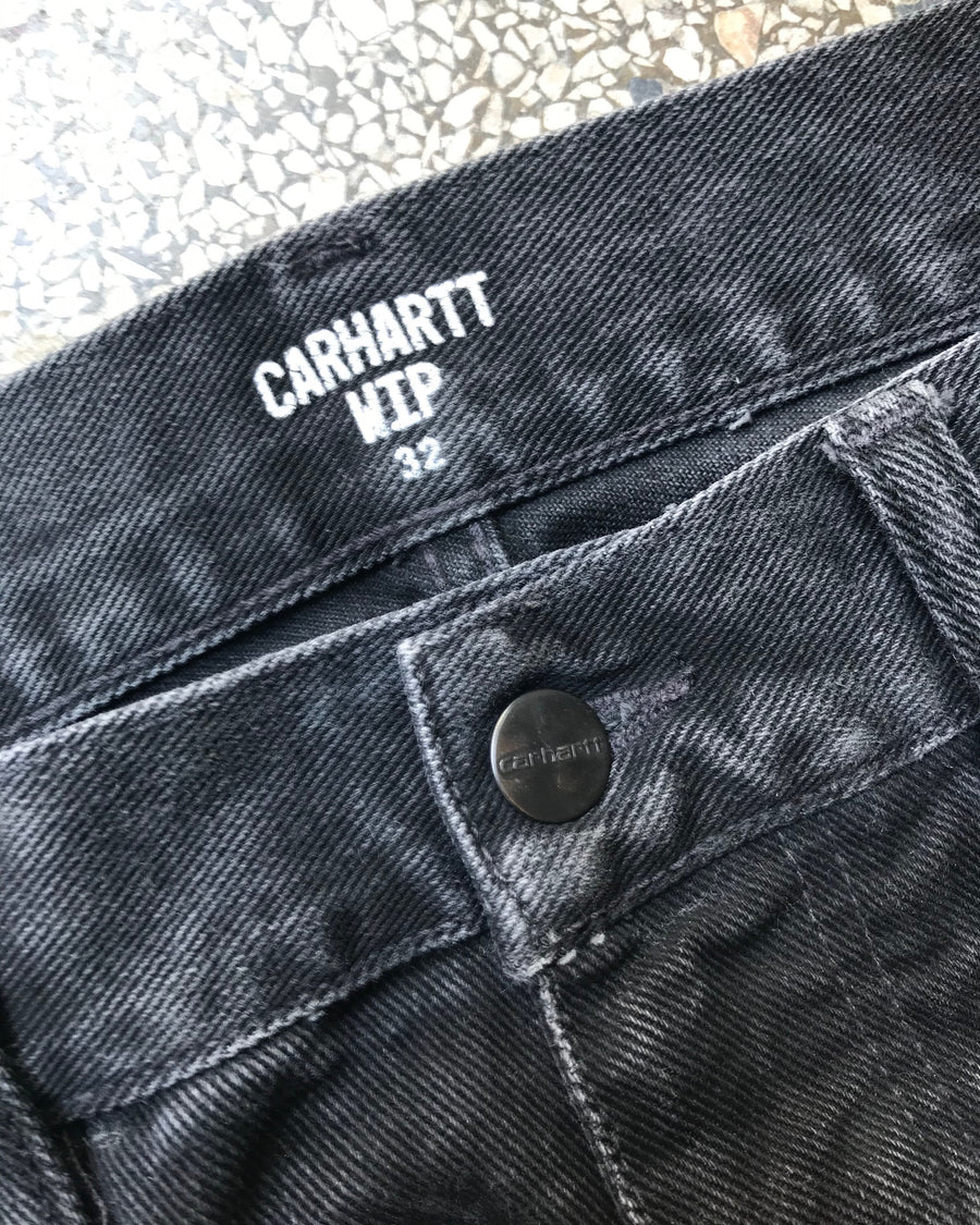 RECYCLE - CARHARTT SORTE JEANS