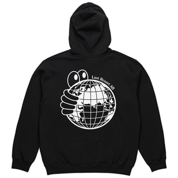 Sort World Hoodie fra Last Resort AB