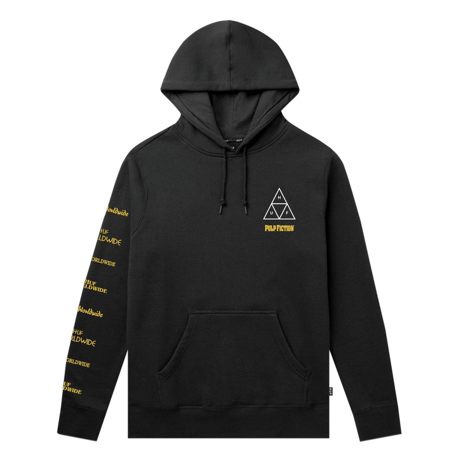 MIA TRIPLE TRIANGLE PULLOVER HOODIE SORT FRONT