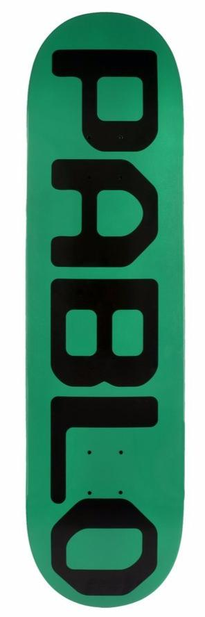 gx1000 - Pablo - Skateboard -8.375 deck green