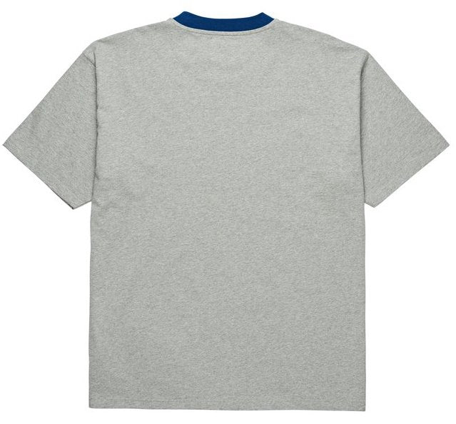 Polar Skate Co.- Ringer Tee - Heather Grey/Navy