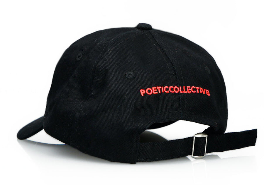 Poetic Collective - Classic Cap Sort/Rød