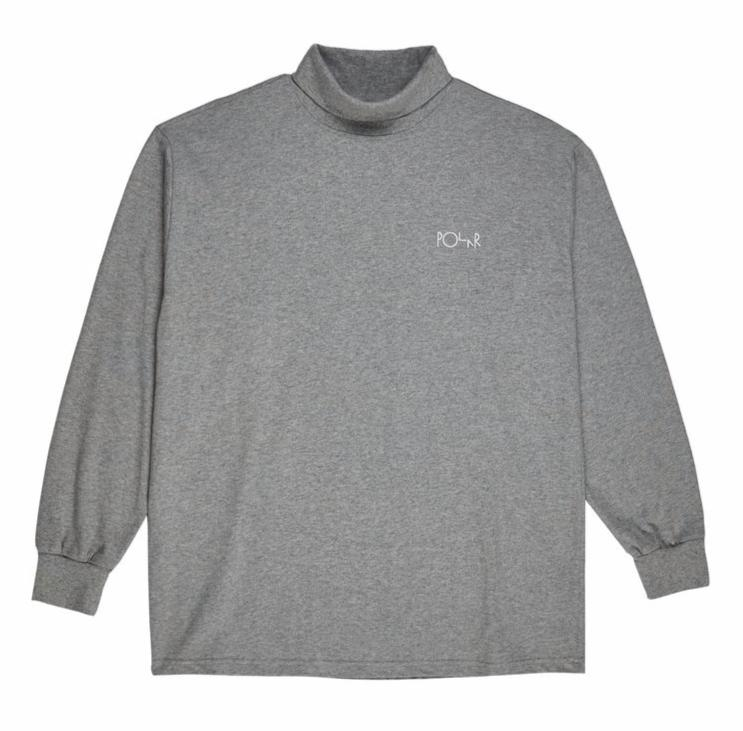 Polar Skate Co. - Script Turtleneck - Grey
