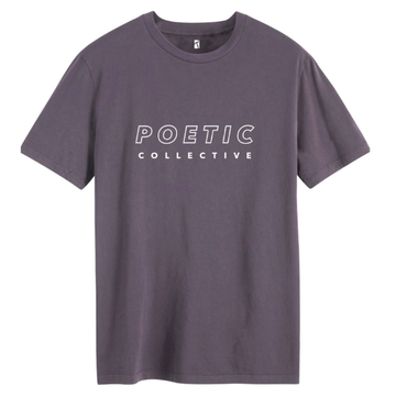 Poetic collective sports t-shirt violet