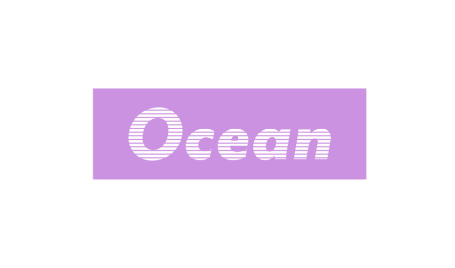 Ocean - Striped Box Stickers 3 Stk