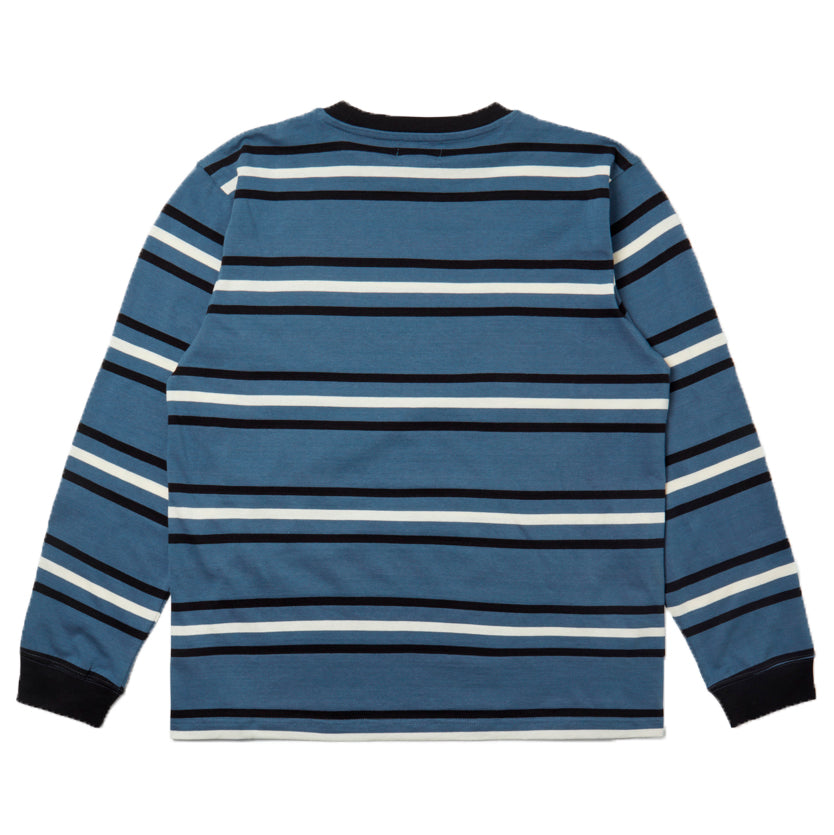 SCRT - Stripe Long Sleeve BLUE RYG
