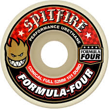 Spitfire - Formula Four Conical Full - Duro 101 - 52MM