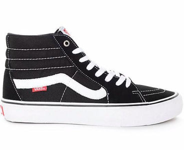 You added <b><u>Vans - Sk8 High Pro - Classic</u></b> to your cart.