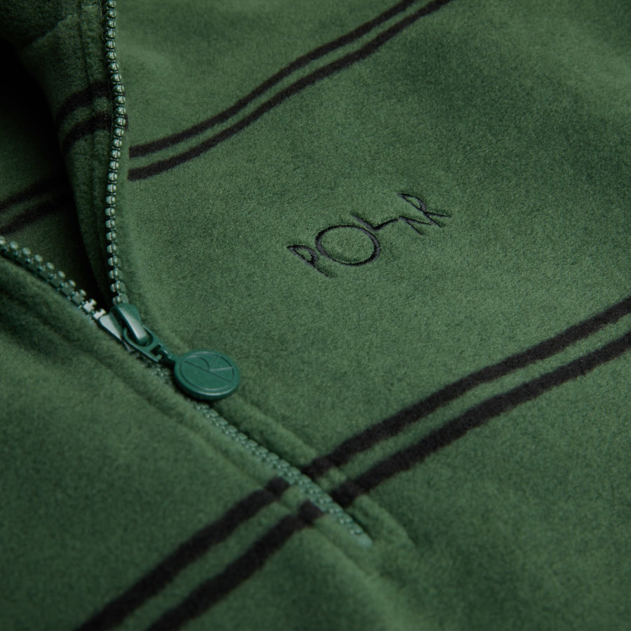 Polar Skate Co. - Stribed Fleece Pullover 2.0 - Army