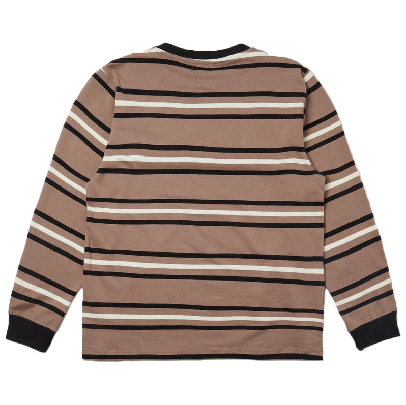 SCRT - Stripe Long Sleeve KHAKI RYG